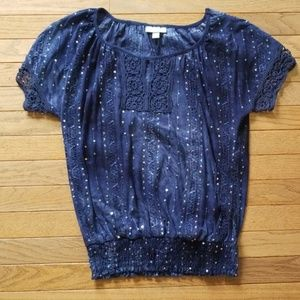 Sparkly Dress Barn Top